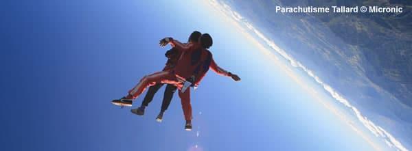 Baptême et stage parachutisme, chute libre à Tallard – Gap, avec Micronic