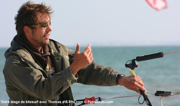 Thomas : moniteur de kitesurf à Antibes