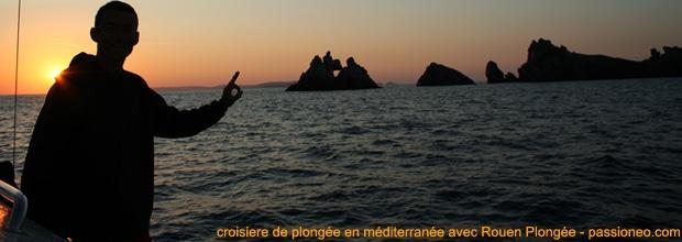 Croisière de plongée avec Rouen Plongée