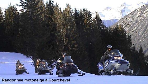 Motoneige à Courchevel : location et randonnée motoneige – Haute Savoie
