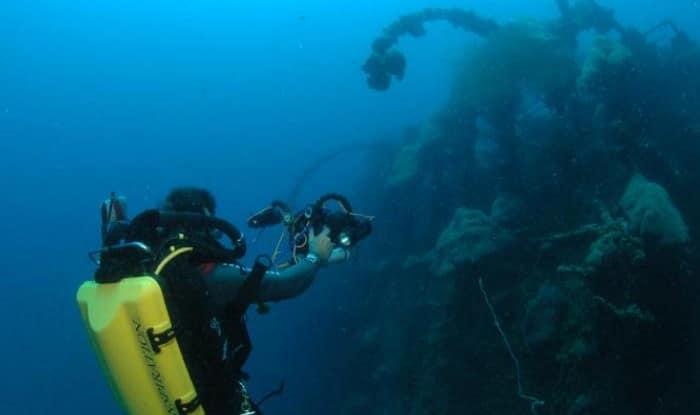 La plongée aux Maldives