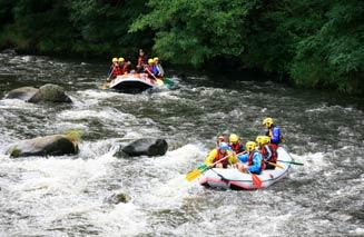 Canyoning, rafting et kayak en Auvergne