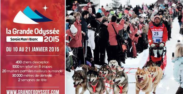 La Grande Odyssée Savoie Mont Blanc – 10 au 21 janvier 2015