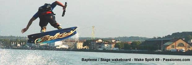 jump wakeboard à Lyon