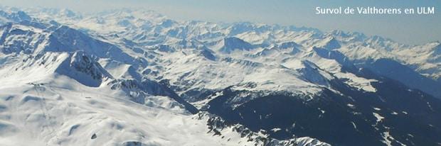 ULM en station de ski – Val Thorens