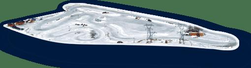Circuit sur glace à Tignes