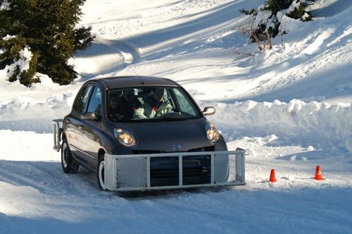 Stage pilotage sur glace, sur neige : stage en Isère
