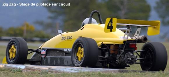 Stage de pilotage monoplace : stage pilotage Formule 3, Renault