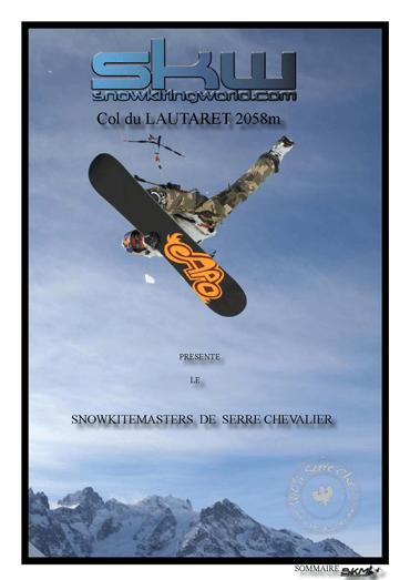 Affiche du Snowkite Masters 2009