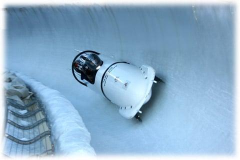 Bobsleigh : descente en bobsleigh à La Plagne – Savoie